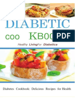 Diabetes Ebook:Diabetic Cookbook Healthy Living For Diabetics