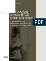 BYOD Best Practices Whitepaper