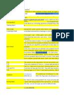 Junior Training Sheet