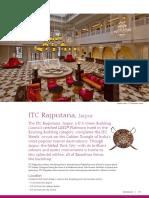 ITC Rajputana FactSheet