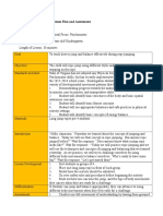 developmental domain lesson plan and assessment