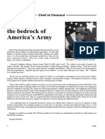 Values-The Bedrock of America's Army