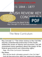 APUSH Review Key Concept 5.3