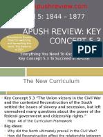 APUSH Review Key Concept 5.3