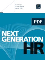 Next Generation HR Key Messages