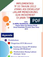 Implementasi PP 33 Ttg ASI Eksklusif