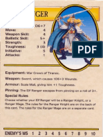 Warhammer Quest Characters] Elf Ranger