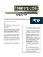 Warhammer Quest Characters] Pit Fighter