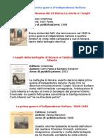 Bibliografia Sulla Prima Guerra d'Indipendenza