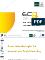 Some Strategies for Autonomous Esl Learning