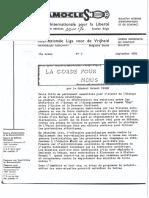 Damoclès - Septembre 1982