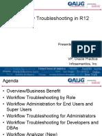Workflow Troubleshooting 2012