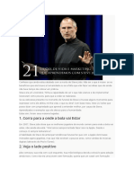 21 Liçoes de Steve Jobs