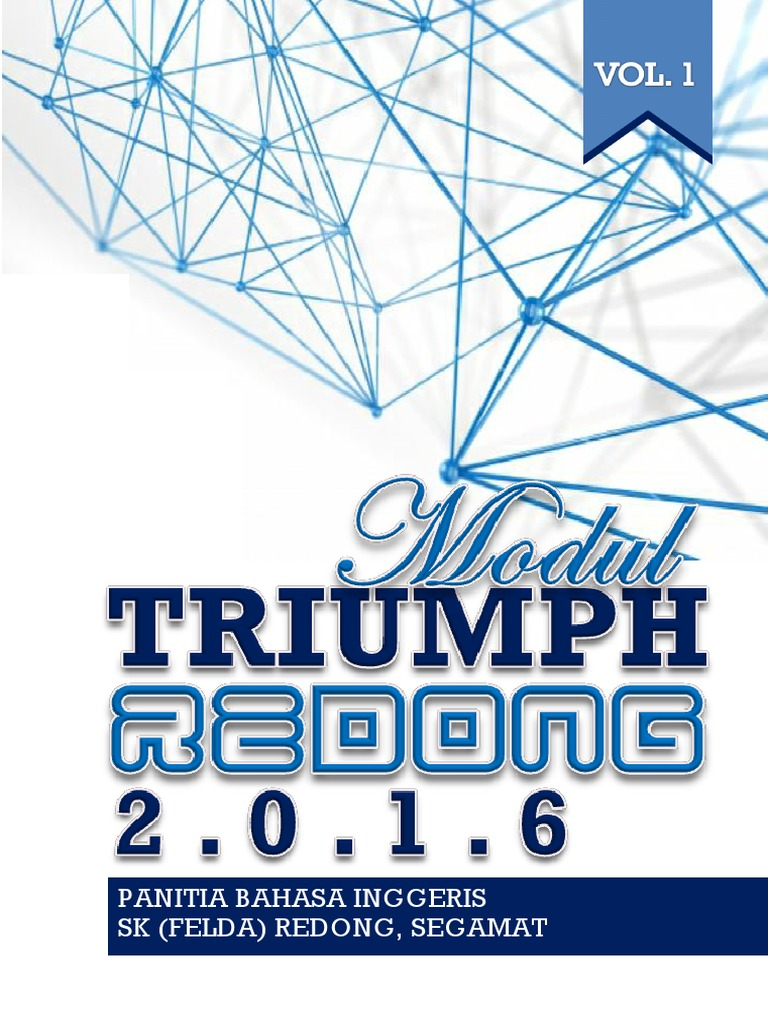 Triumph Redong Vol 1   Morphology   Syntactic Relationships
