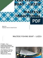 Maltese Fishing Boat Luzzu