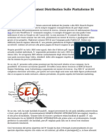 Come Do SEO E Content Distribution Sulle Piattaforme Di Blog Hosting