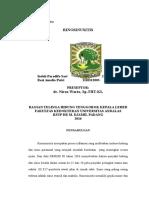 Case Repost Session Rhinosinusitis