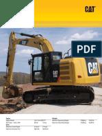 Caterpillar 318E Crawler excavator