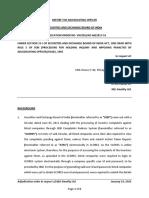 Adjudication Order In respect of M/s Kwality Ltd.