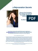 9 Chakra Rejuvenation Secrets
