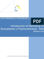 Modulo Uno Introduccion Marketing Buscadores