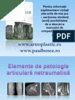 Patologie Articulara Netraumatica