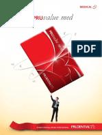 Health & Medical Insurance (PRUvalue Med-Brochure)