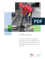 Feuillet Info Applications - Beton