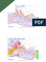 Historia Del Imperio Bizantino - Mapas