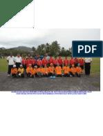 Pasukan Lelaki Dan Perempuan Bola Baling Sk Titi Tok Bandar Bergambar Bersama Tuan Guru Besar