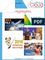Current Affairs December Study PDF Capsule 2015 by AffairsCloud