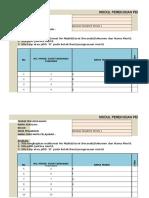 Pelaporan Excel Tahun 1