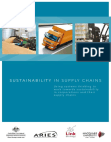 Research Study on Sustainability in Corporations and Supply Chains