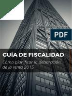 Guia Fiscalidad 2015