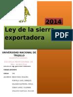Sierra Exportadora.
