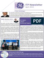 GE M&D April ITP Newsletter