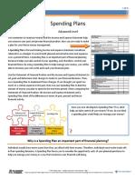spending plans info sheet 2 2 5 f1