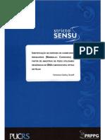 IDENTIFICAÇÃO DE ESPÉCIES DE CARNÍVOROS  BRASILEIROS (MAMMALIA