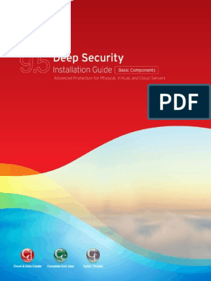 Installing the Deep Security Manager | Online Safety