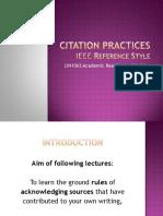 Citation Practices