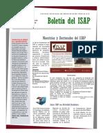 Boletín del ISAP Enero 2016