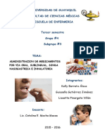 Administracion de Farmacos Nuevo Grupo de Kelly Lissette Guissella