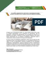 Boletín de Prensa No. 5