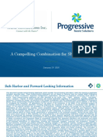 Waste Connections & Progressive Waste Merger Presentation
