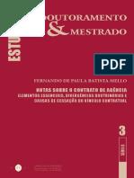 Contrato de Agencia- Pinto Monteiro