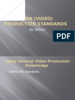 television  video  production standards