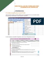 Formulario Para Evaluacion Experiencia Consorcios