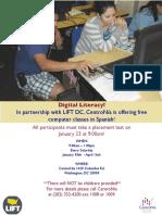 Digital Literacyflyer January