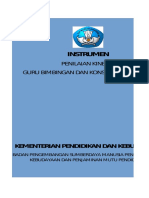 Instrumen Dan Rubrik PK Guru BK