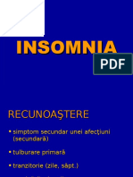 Insomnia psihiatrie